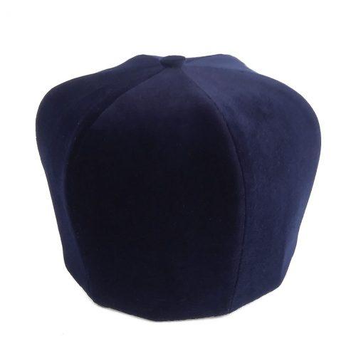 Колпак,клобук головной убог священника УГКЦ синего цвета из бархата